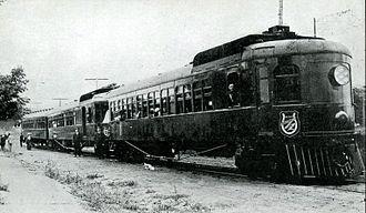 Dan Patch - A Dan Patch Railway train, circa 1915.