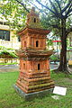 Dang Minh stupa (replica), Hai Duong province, Tran dynasty, 13th-14th century AD, terracotta - National Museum of Vietnamese History - Hanoi, Vietnam - DSC05757.JPG