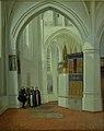 Dankvart Dreyer - Koret i Assens Kirke - KMS427 - Statens Museum for Kunst.jpg