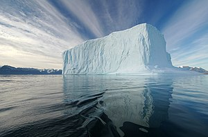 Northeast Greenland National Park - Iceberg in the national park