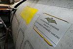 Danmarks Flymuseum, Stauning - restoration hangar, F-84F Thunderstreak (27821079196).jpg