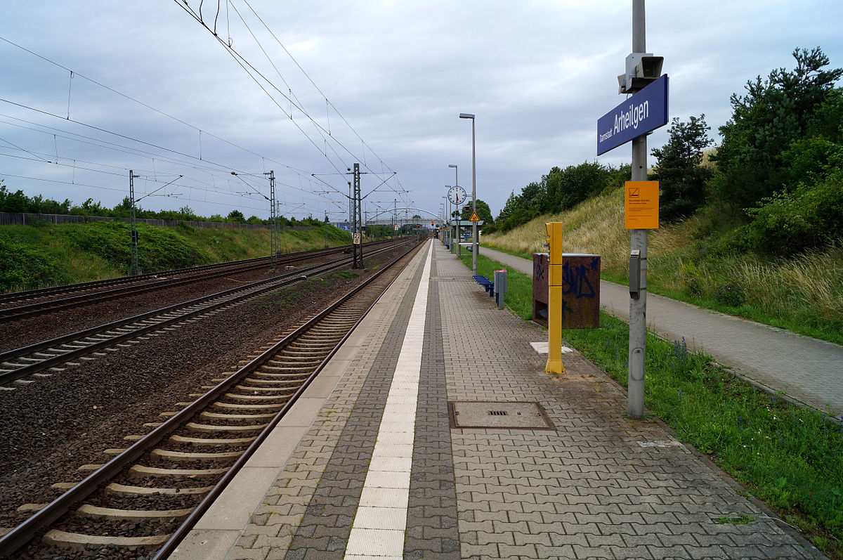 Bahnhof Darmstadt Arheilgen Wikipedia