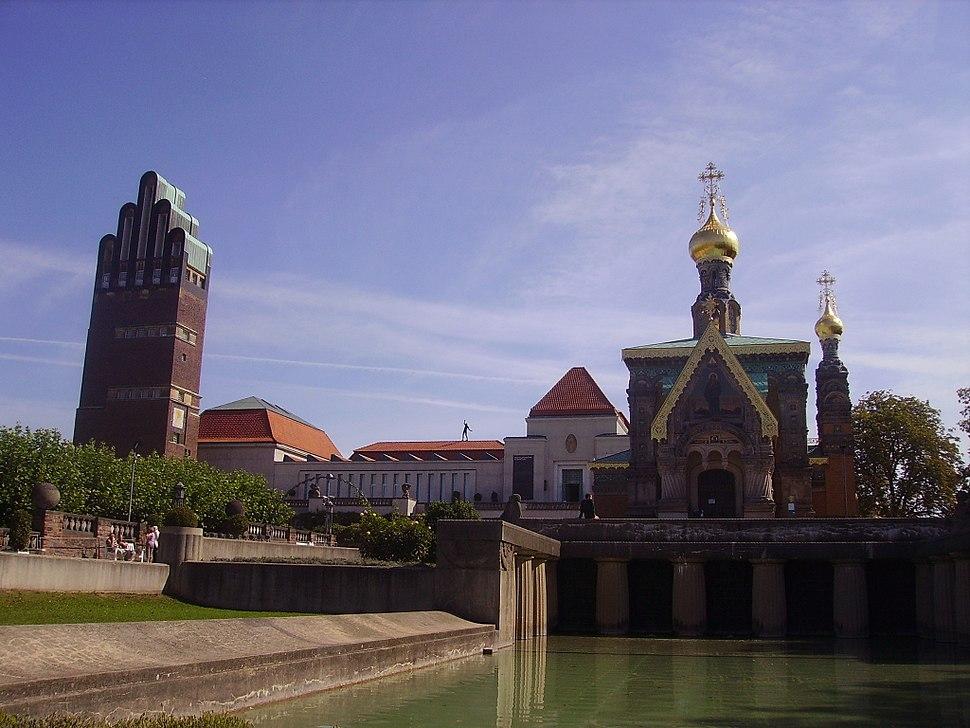 Darmstadt Russisch-Orthodoxe Kapelle Front 4