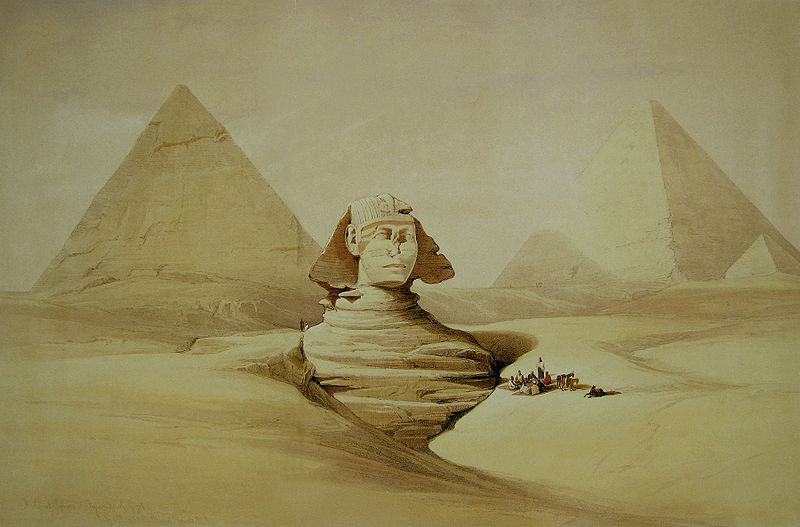 File:David Roberts Sphinx Head.jpg