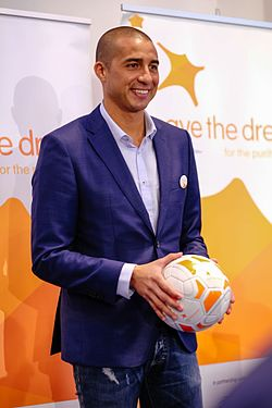 David Trezeguet became Save the Dream Ambassador, 2017.jpg