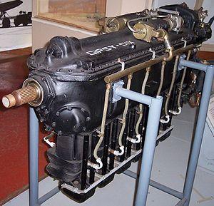 De Havilland Gipsy Six - Preserved Gipsy Six