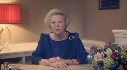 Bestand:De Koningin kondigt haar aftreden aan.webm