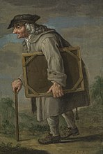 De oude schilder