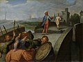 De vredesonderhandelingen tussen Claudius Civilis en de Romeinse aanvoerder Cerealis Rijksmuseum SK-A-432.jpeg