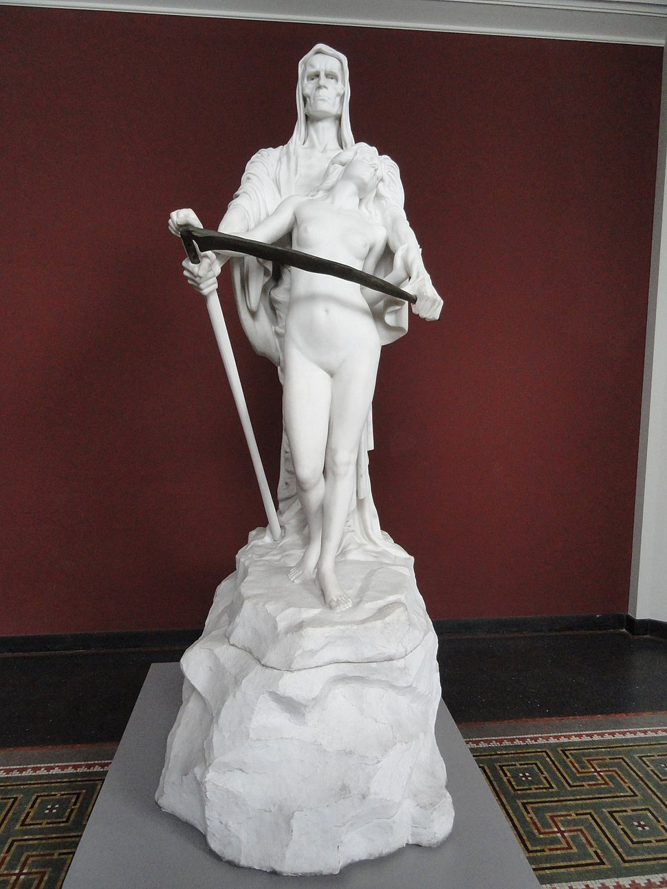 Death and the Maiden by Elna Borch, 1905 - Ny Carlsberg Glyptotek - Copenhagen - DSC09501