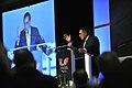 Defense.gov News Photo 120611-D-NI589-343 - Secretary of Defense Leon E. Panetta delivers the keynote address at the 31st American Turkish Council Conference Dinner in Washington D.C. on June.jpg