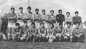 Defensores Unidos - The team that achieved the Primera D championship in 1969.