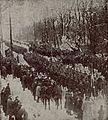 Defilada 1200 strzelców w Grodnie po ćwiczeniach, 1926.jpg