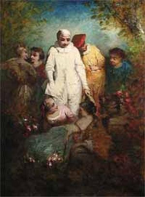 """Narcisse Virgilio Díaz - """"Fête Champetre"""" by Diaz de la Peña"""