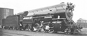"Horatio Allen - D&H high-pressure locomotive, ""Horatio Allen"", of 1924"