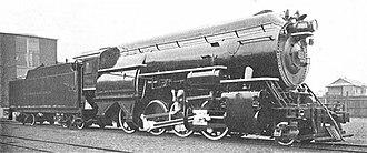 """Horatio Allen - D&H high-pressure locomotive, """"Horatio Allen"""", of 1924"""
