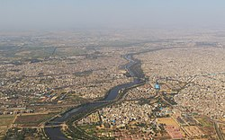 Aerial view of Dwarka