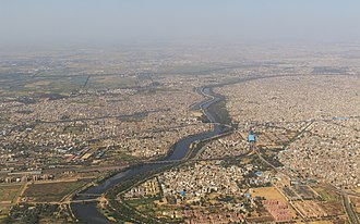 Dwarka, Delhi - Aerial view of Dwarka