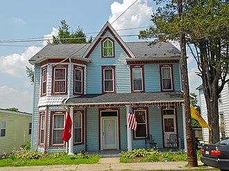 Delta, Pennsylvania - House on Main Street