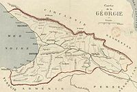 Democratic republic of Georgia 1920 Göttingen university map.jpg