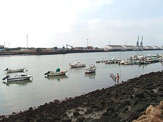 Guadalete - Guadalete River in El Puerto de Santa Maria