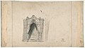 Design for a Stage Set at the Opéra, Paris (recto); Design for a doorway (verso) MET DP809824.jpg