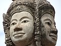 Detail of Temple Sculpture - Wat Day Doh - Kampong Cham - Cambodia (48336131062).jpg