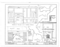 Details - Amstel House, 2 East Fourth Street, New Castle, New Castle County, DE HABS DEL,2-NEWCA,10- (sheet 6 of 6).png