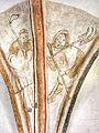 Detalje fra kalkmaleri i Klosterkirken Aarhus.jpg