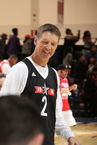 NBA Sixth Man of the Year Award - Detlef Schrempf was the first non-American to receive the award and won it twice.