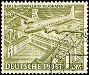 Deutsche Post - 1 Deutsche Mark