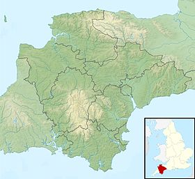 Devon UK relief location map.jpg