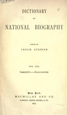 Dictionary of National Biography volume 21.djvu