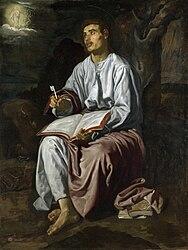 Diego Velázquez: Saint John the Evangelist on the Island of Patmos