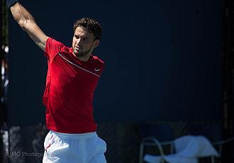 Grigor Dimitrov - Grigor Dimitrov at the 2012 US Open