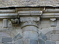 Dinan (22) Basilique Saint-Sauveur Costale sud de la nef Chapiteau 01.JPG