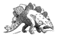 Dinosaur - stegosaurus (PSF).png