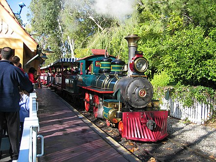 Disneyland Railroad Engine 2 DisneylandTrainLocomotive.jpg
