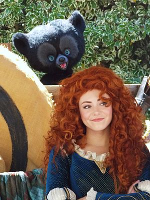 Merida (Disney) - Merida at Disneyland.