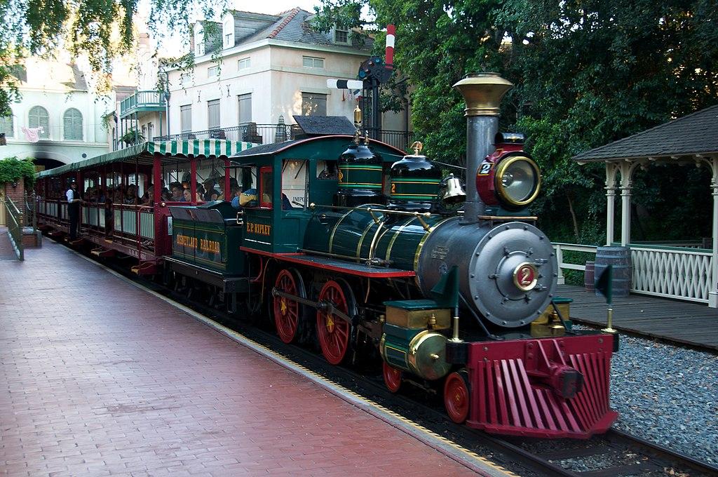 Disneyland Railroad EP Ripley a