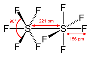 Disulfur decafluoride chemical compound