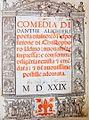 Divina Comedia, Dante Alighier, Veneza, 1529.jpg
