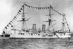 Russian cruiser Dmitrii Donskoi - Image: Dmitriy Donskoy 1880 1905