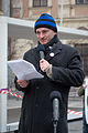 Doc. Mgr. Martin Konvicka Ph.D. na demonstraci v Brne 14. unora 2015 01.jpg