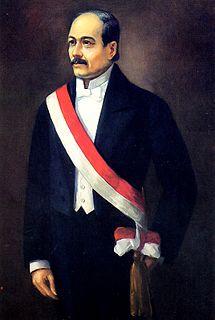 Domingo Elías President of Peru