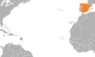 Dominica–Spain relations