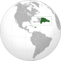 Dominican Republic (orthographic projection).svg