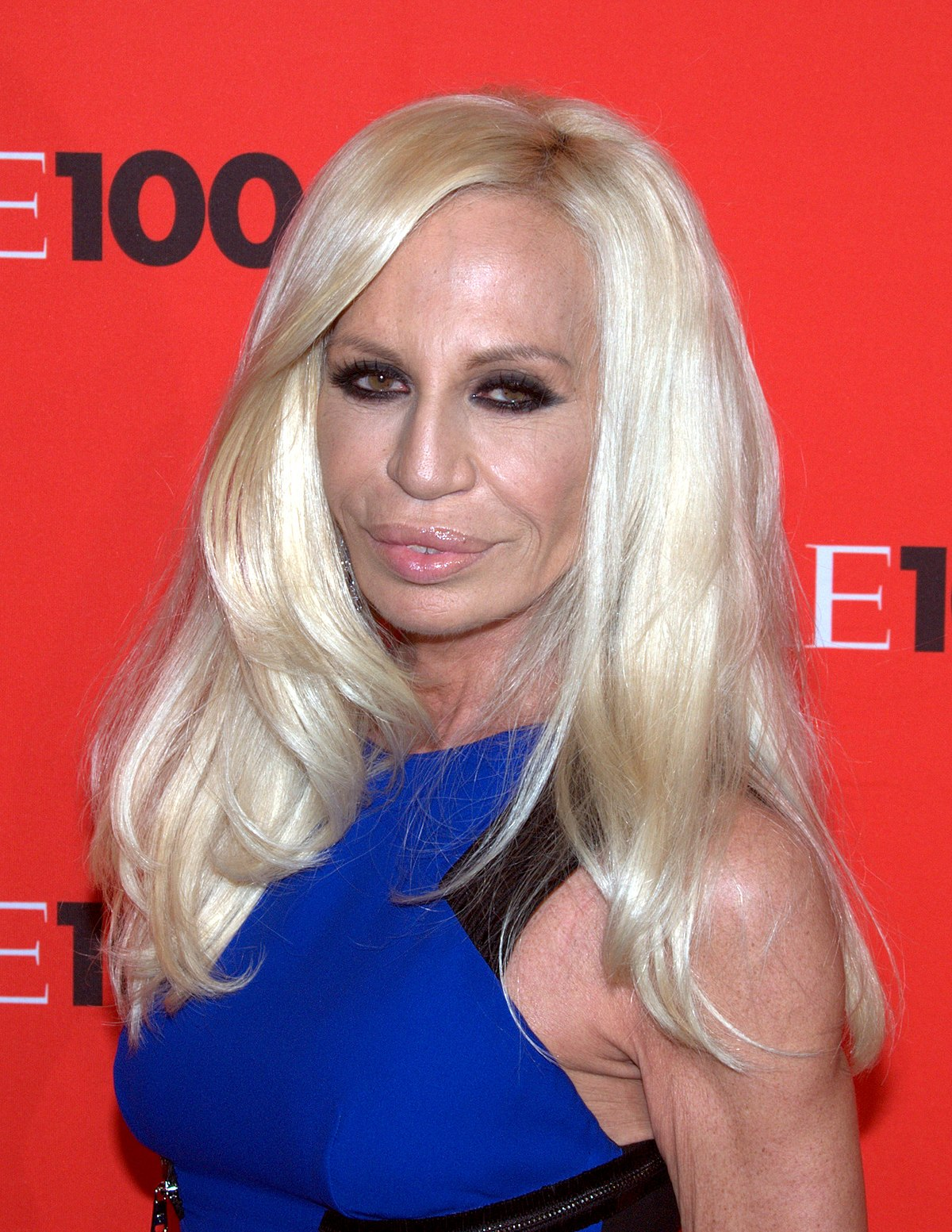 Donatella Versace Young Worth