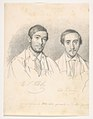 Double Portrait of the Artists E.F. Kloss and G. Pellicia MET DP831815.jpg