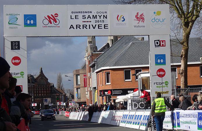 Dour - Le Samyn, 4 mars 2015, arrivée (A5).JPG